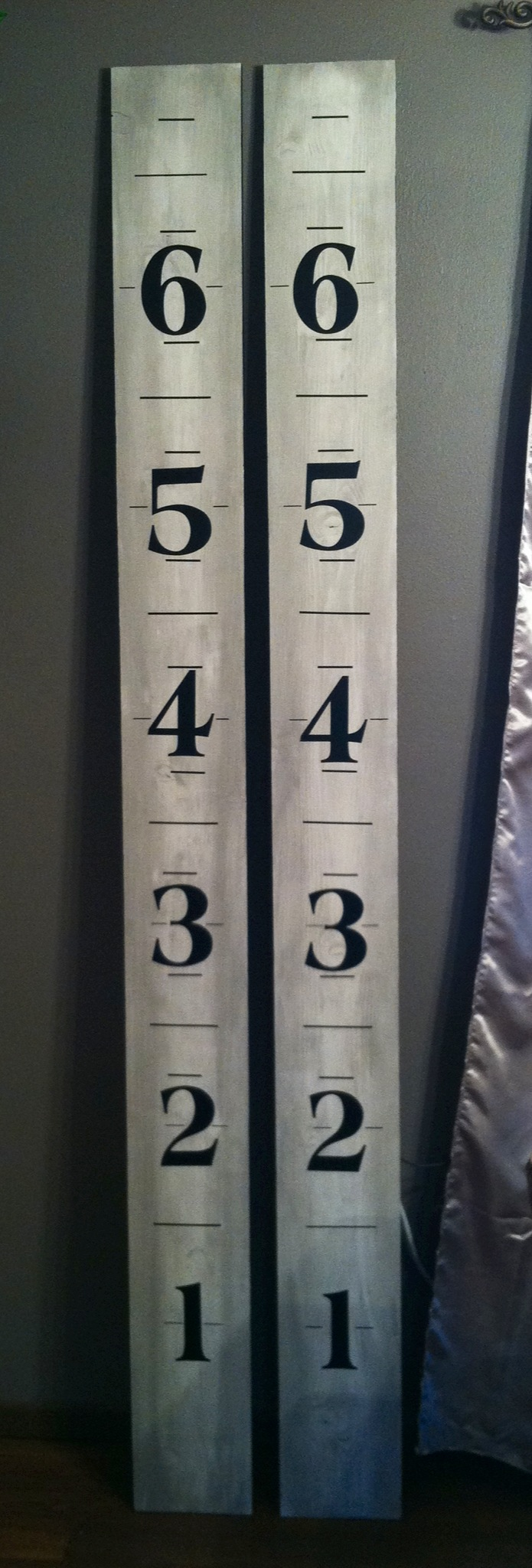 Family Growth Chart Independent 7 Ft Growth Board